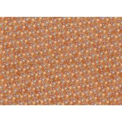 Happy birds in town flowers