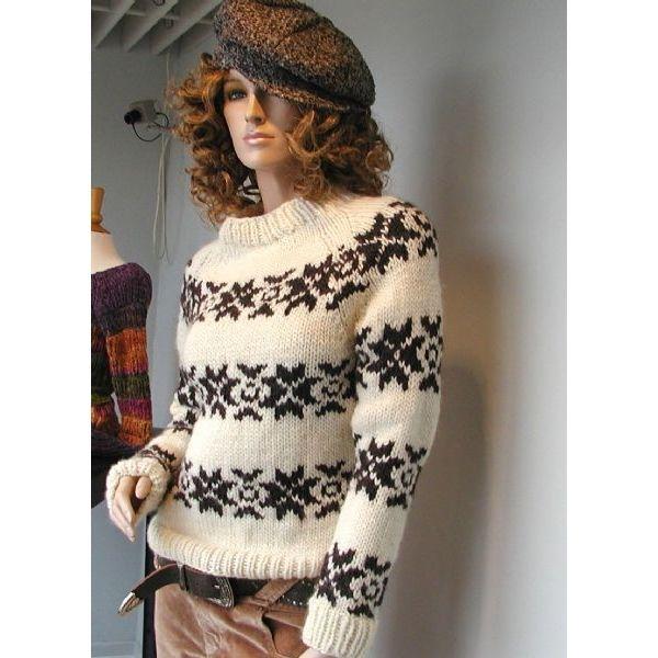 733b0a8a64b Islandsk Sweater ala Sarah Lund Sweater