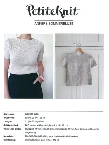 Ankers sommerbluse