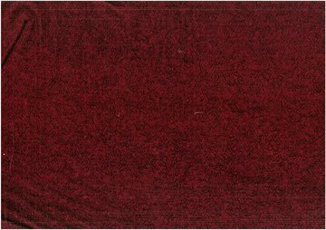 Boucle wool mix warm red