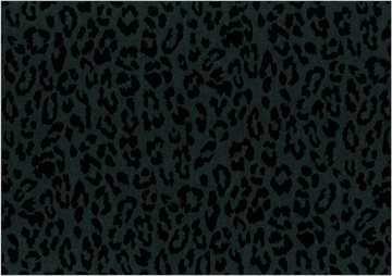 Leopard flock black