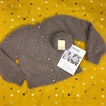 Strikkekit - Novice Cardigan - Chunky Edition - Vores anbefaling