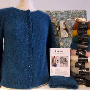 Strikkekit - Novice Cardigan - Mohair Edition - vores anbefaling