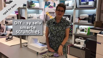 Sy selv smarte scrunchies